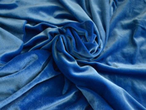 Candy Blue Velvet