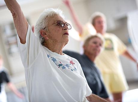 Senior Citizen exercice classe