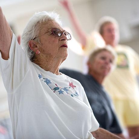 Senior Citizen øvelse klasse