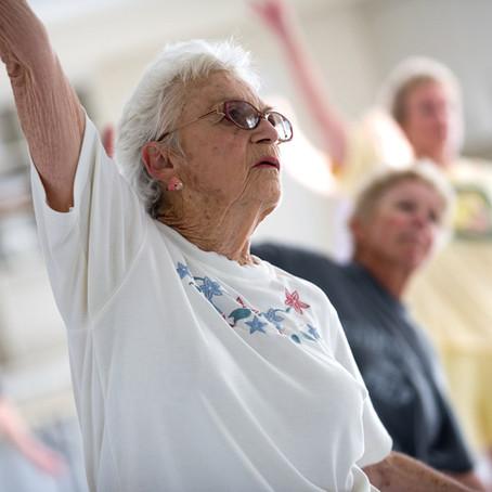 Senioren-Fitnessgruppe