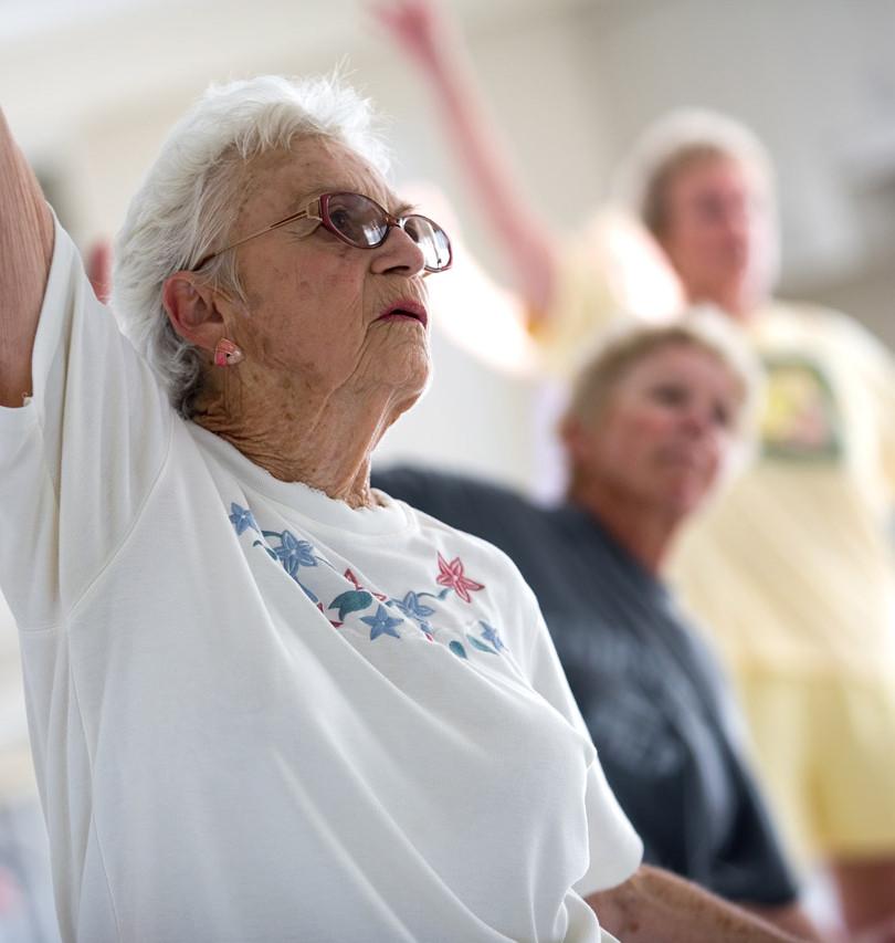 Старший Citizen упражнения Класс