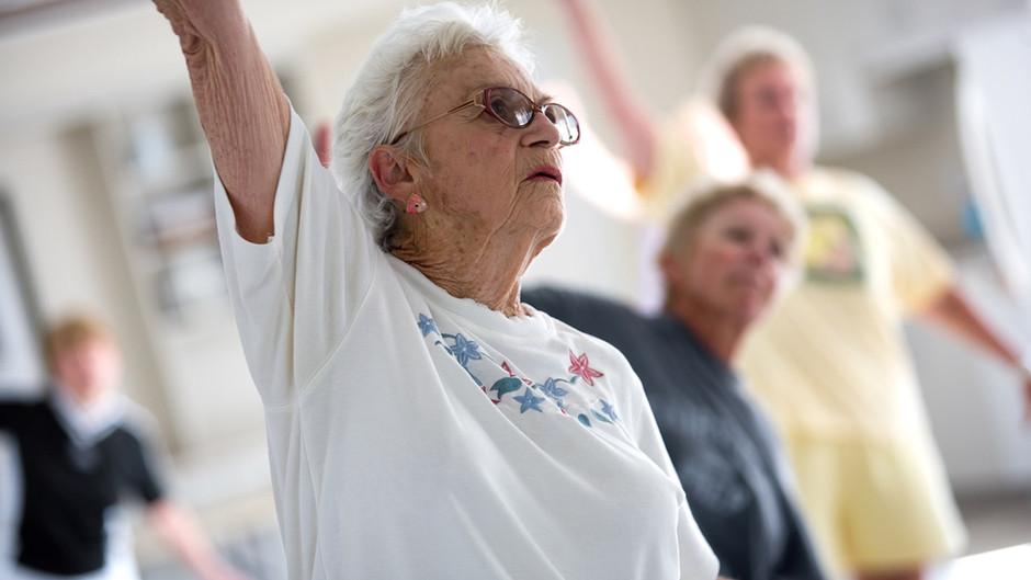 Programme d'activité physique pour les jeunes de plus de 60 ans !