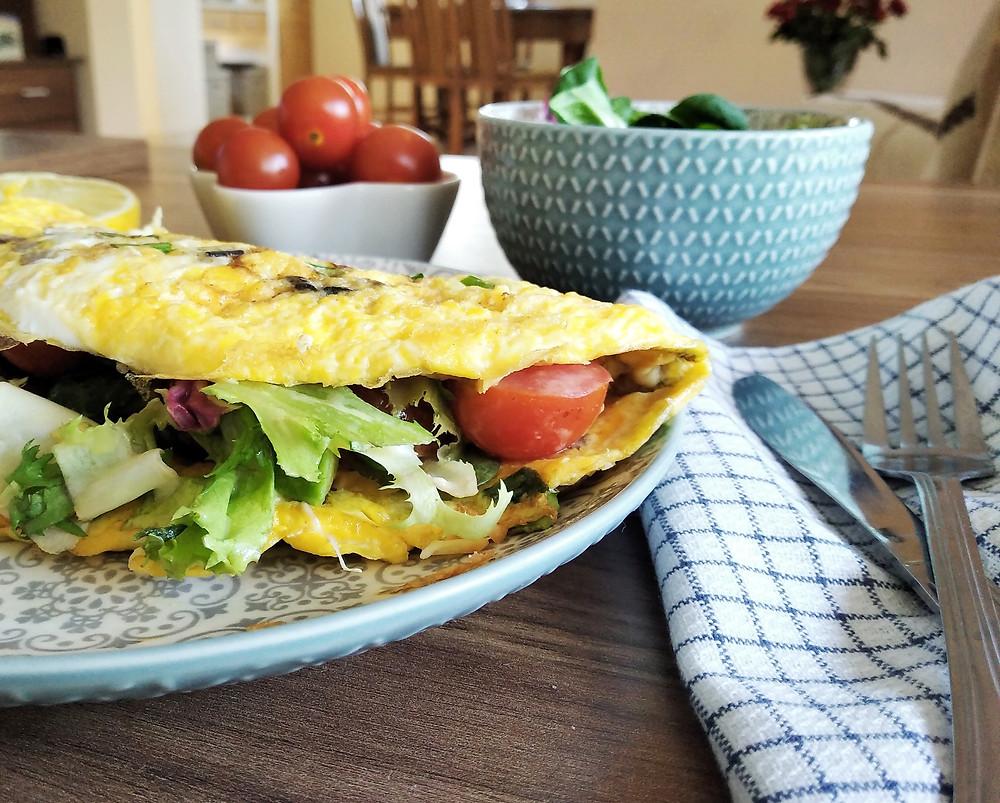 omlet warzywny, poradnia dietetyczna Holi Diet Ada Śledziewska www.holi-diet.pl