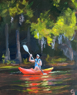'Kayak and Canopy'