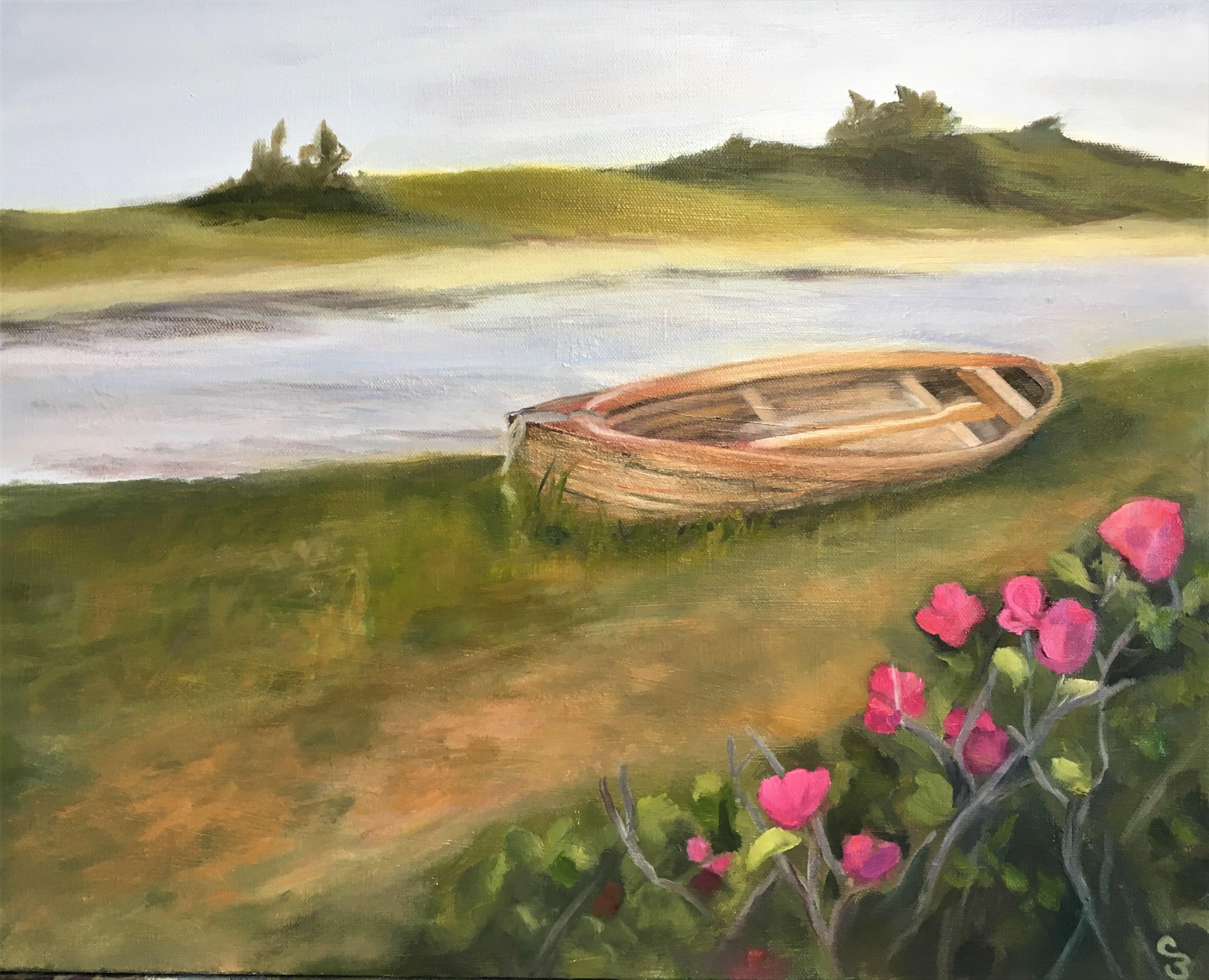 'Beach Rose Boat'