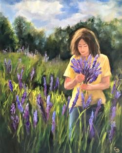 'Lady In Lavender'