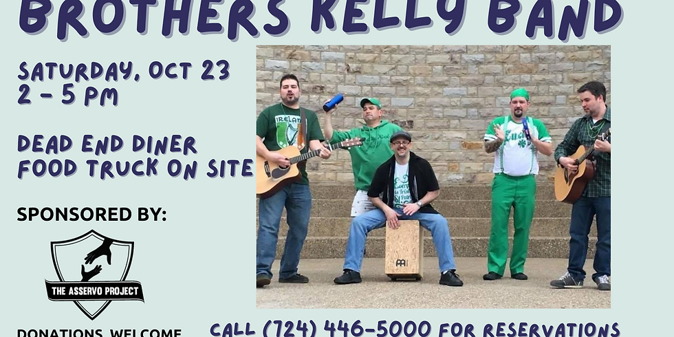 Live Music by The Brothers Kelly