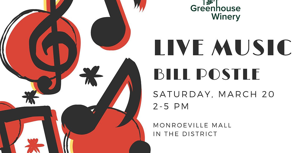 Bill Postle at the Monroeville Mall