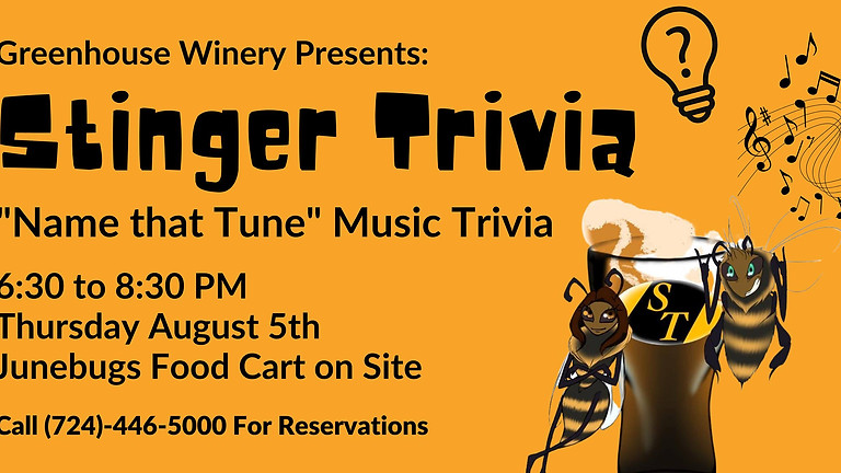 Stinger Music Trivia