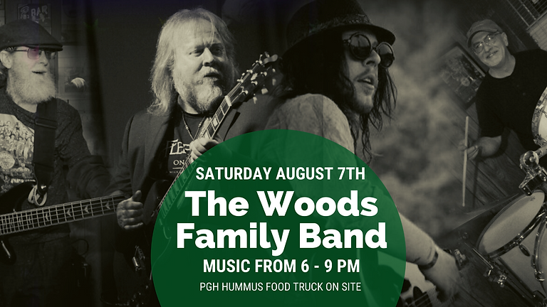 Live Music by The Woods Family Band