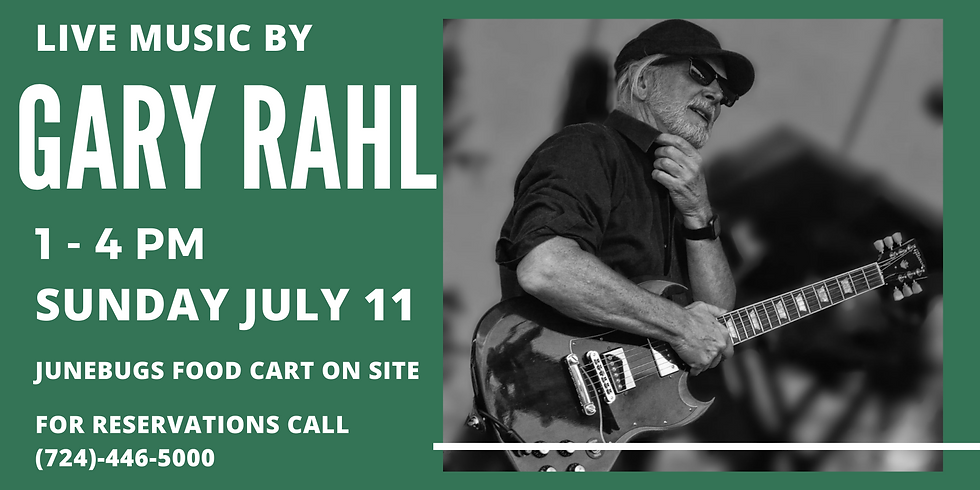 Live Music by Gary Rahl