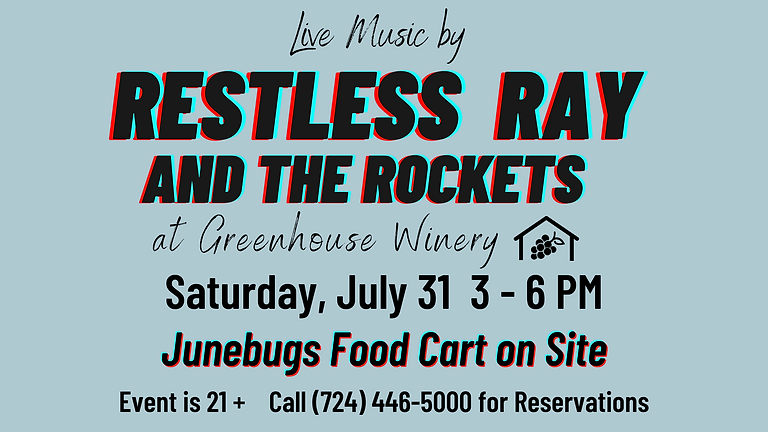Live Music by Restless Ray