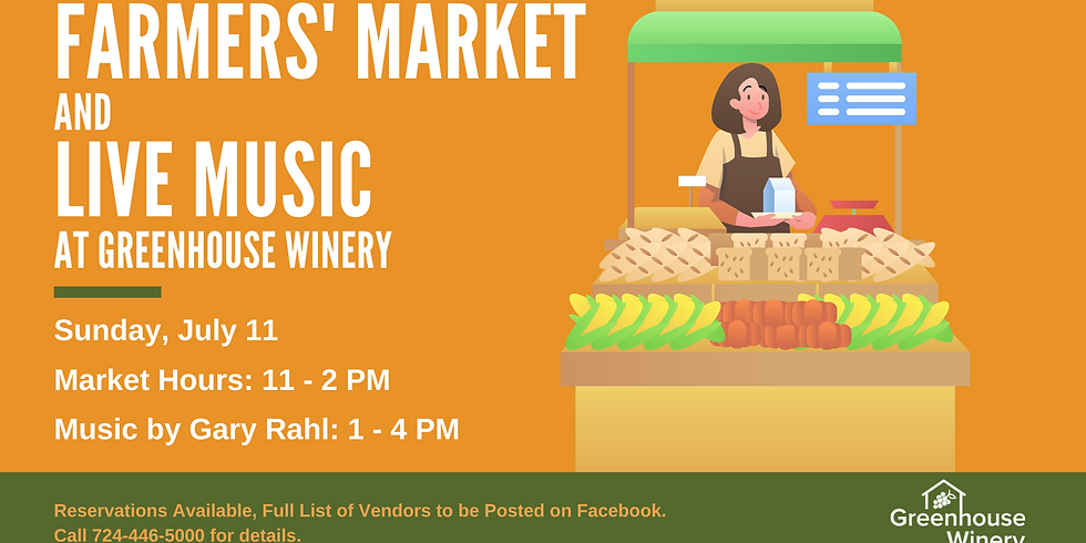 Farmers' Market and Live Music