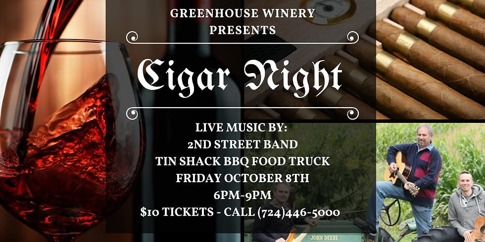 Cigar Night at the Winery