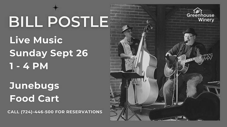 Live Music by Bill Postle