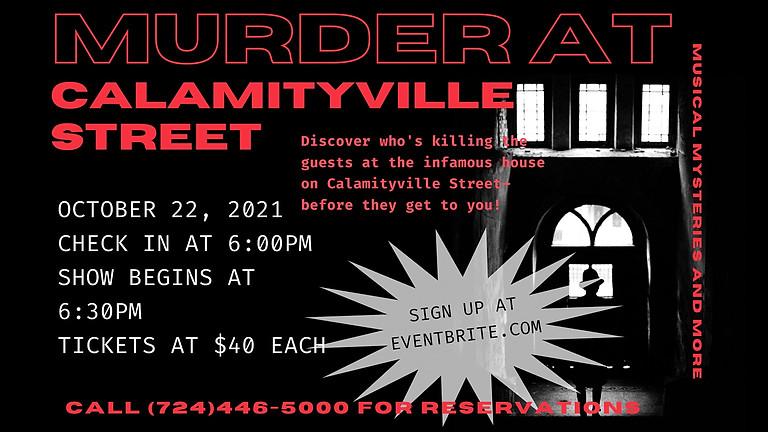 Murder Mystery Dinner: The Calamityville Murder