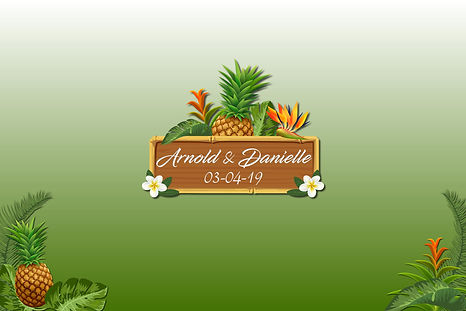 Center Tropical Start Screen