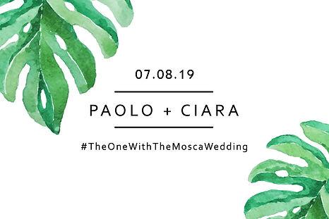 Ciara&Paolo Start Screen