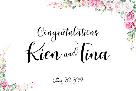 TINA&KIEN Start Screen