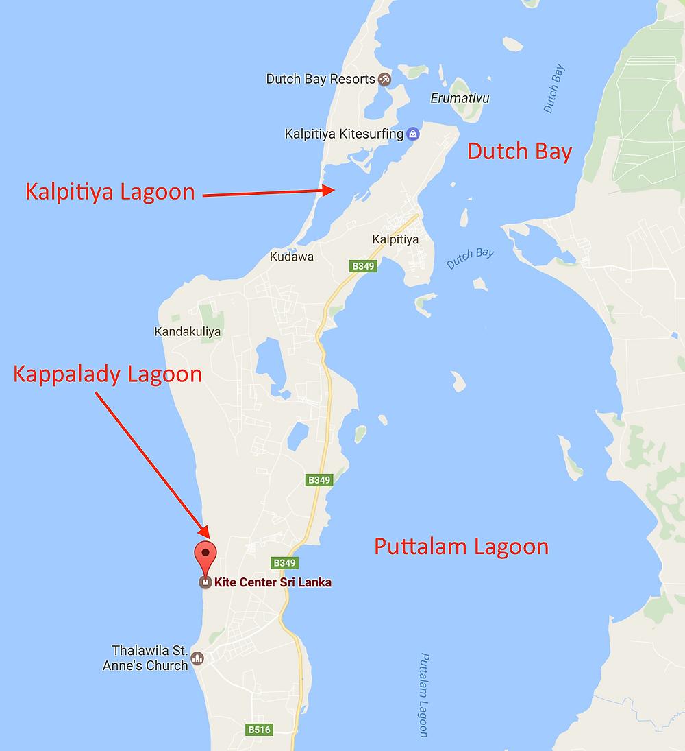 Kite Spots Sri Lanka - Overview