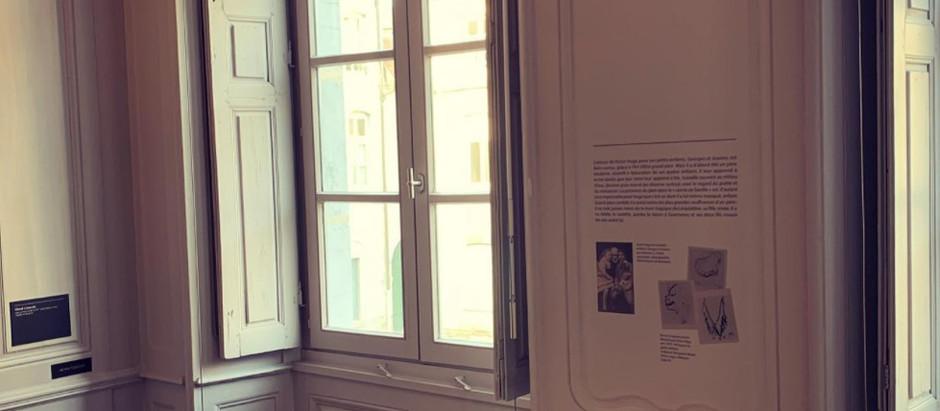 SIGNALÉTIQUE + PAPIER PEINT - Maison Victor Hugo