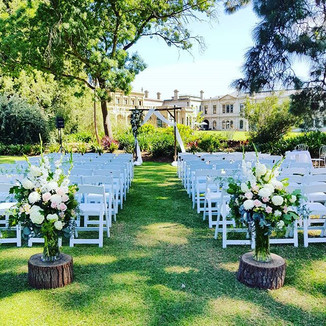 Ceremony arrangements and Archway