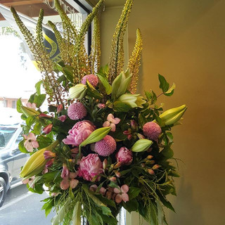 Pink and white flower deliveries