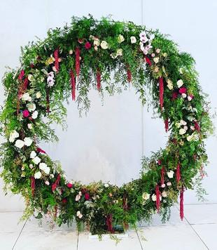 Wedding arch flowers Melbourne, Seddon, Richmond