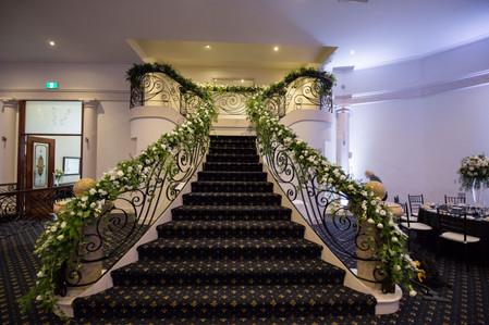 Wedding staircase Melbourne
