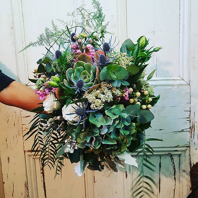Succulent wedding bouquets Melbourne