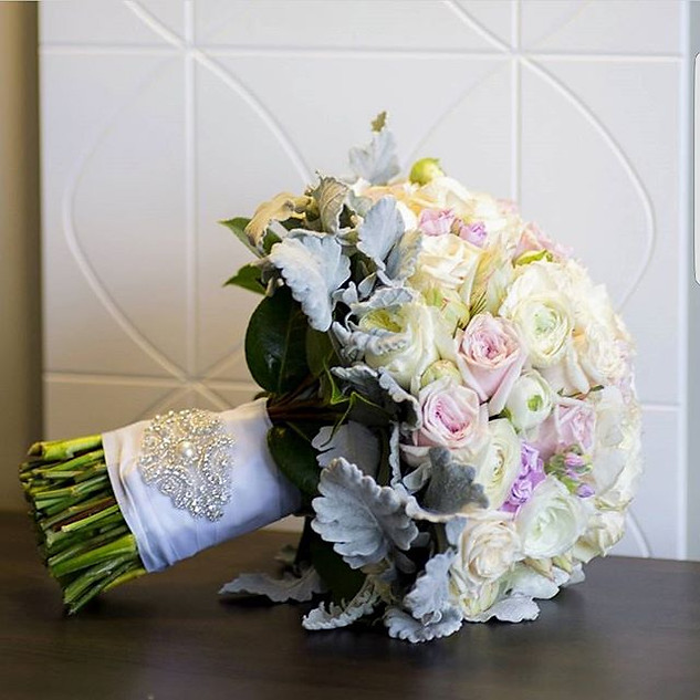 Pink and White Bridal Bouquet Melbourne