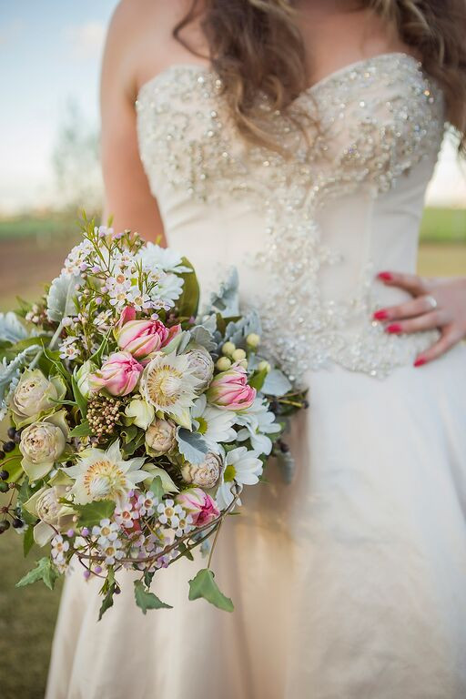 Pretty Bridal Bouquets Yarra Valley