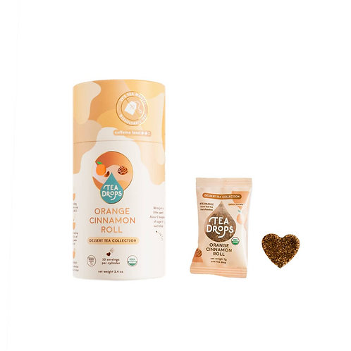 Orange Cinnamon Roll Tea Drops Tube (10 Drops)