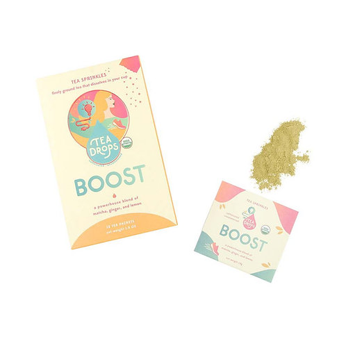 Tea Drops Tea Sprinkles - Boost (12 Packets)