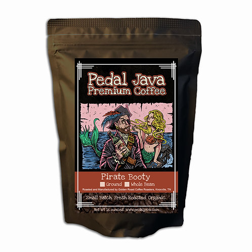 Pirate Booty Coffee by Pedal Java