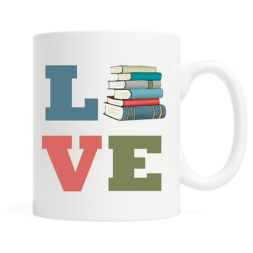 Love Books Mug