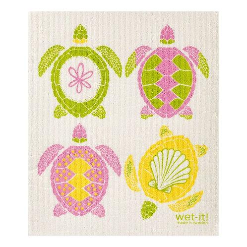 Multi Turtle Wet-It Swedish Dish Cloth