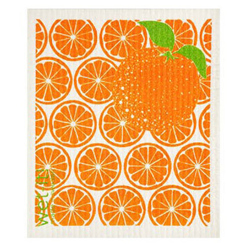 Orange Slices Wet-It Swedish Dish Cloth