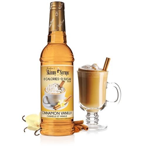 Sugar Free Cinnamon Vanilla Syrup
