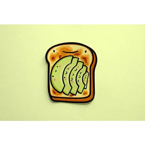 Avocado Toast Vinyl Sticker