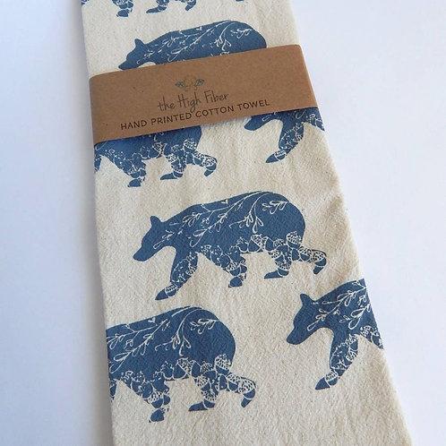 Bear Kitchen Tea Towel