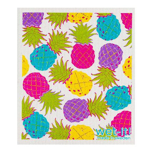 Hawaiian Pineapple Wet-It Swedish Dish Cloth
