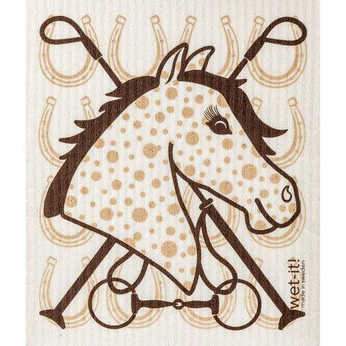 Equestrian Wet-It Swedish Dish Cloth