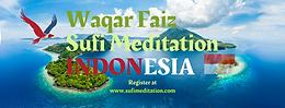 INDONESIA   Waqar Faiz Sufi Meditation (8pm Jakarta Time)