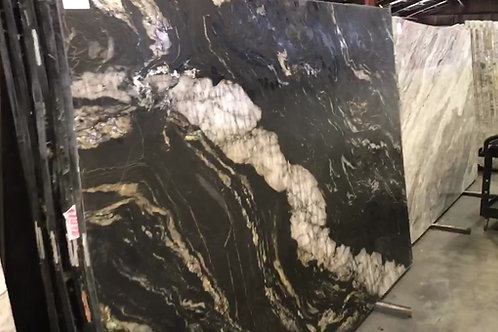 Black Titanium Leathered