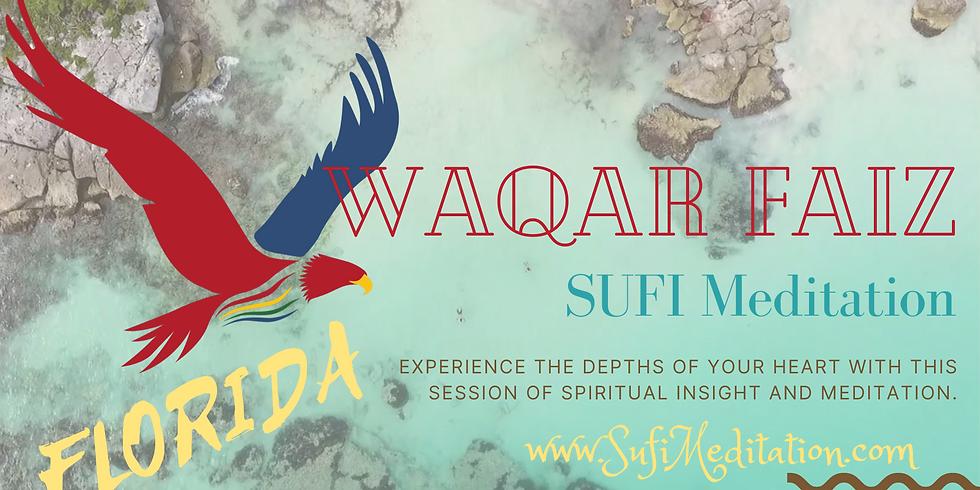 Florida, USA   Waqar Faiz Sufi Meditation