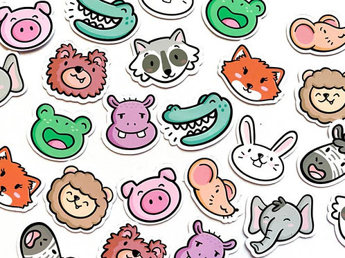 Mini Animals Sticker Pack