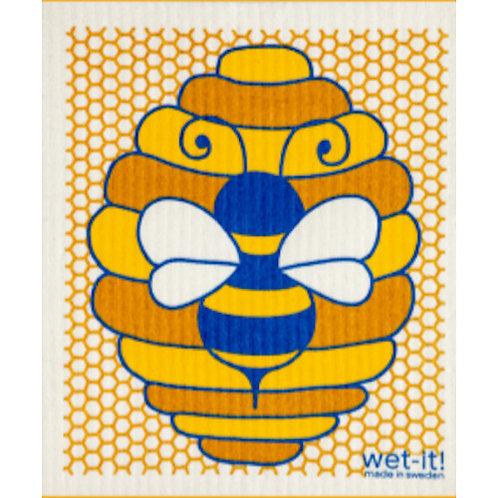 Honeybee Wet-It Swedish Dish Cloth