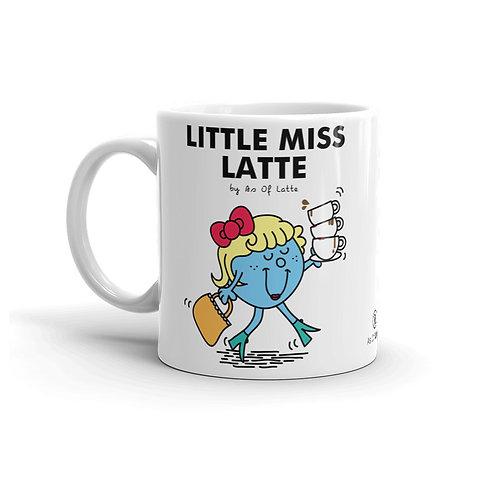 Little Miss Latte 11 oz. Mug by As of Latte