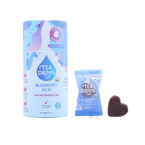 Blueberry Acai Tea Drops Tube (10 Drops)